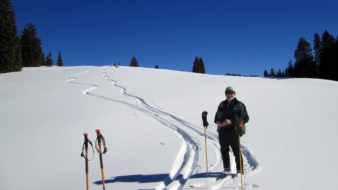Ward Nordic cross country ski area on Grand Mesa, Colorado.