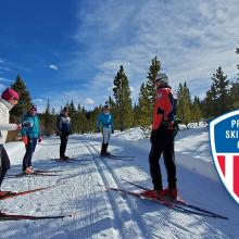 An event of Professional Ski Instructors of America